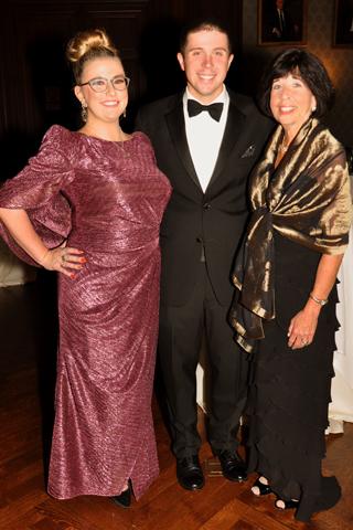 4. Christine Brannigan, John Lloyd and Michele Lloyd.