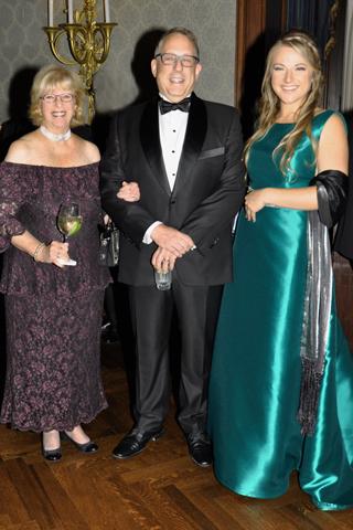 7. Sharla Feldscher, Bob Pick and Emily Harris.