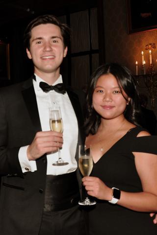 9. Reilly Bova and Joanna Kuo.