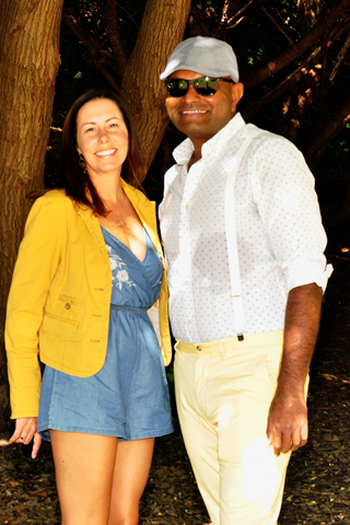4. Guests included Annette Gallagher and Avinash Raghupathy.