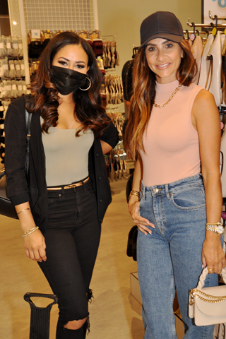 9. FOX 29's Alex Holley and Alisa Frederico enjoyed shopping at Primark .