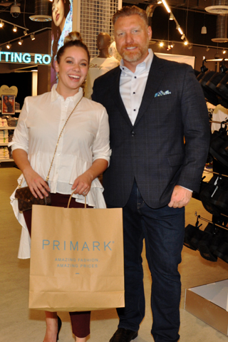 7. Kiley and Brian Stevenson made several purchases!