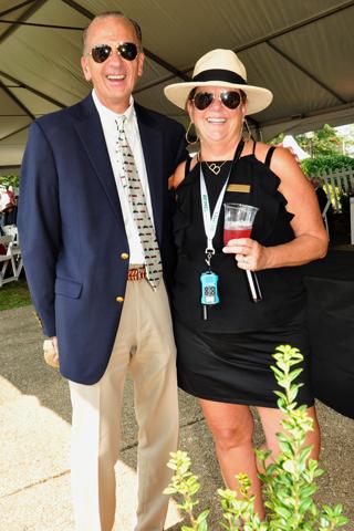 12. Craig Kondravi and Barbara Gutt.