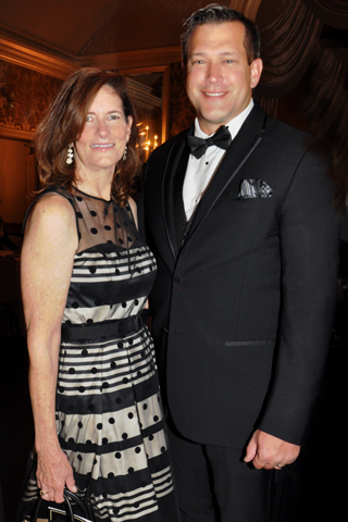 12. Malvern Bank President Elizabeth Hadley and it's Senior Vice President and CEO Alex Opiela III paused for a photo.