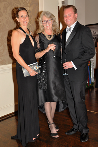 2. Britton Parris, Karen Martin and Jeff Parris.