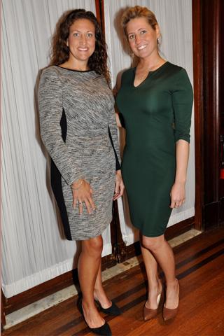 2. Julia Brines of Haefele Flanagan chatted with Stephanie Turzanski of VinVu Foundation.